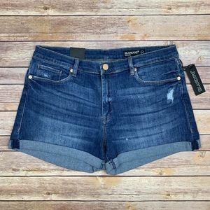 Blank NYC The Fulton Cuffed Denim Shorts